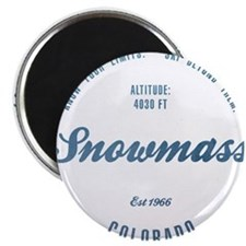 Snowmass Ski Resort Colorado Magnets