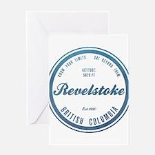 Revelstoke Ski Resort British Columbia Greeting Ca