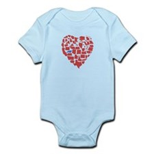 North Carolina Heart Infant Bodysuit
