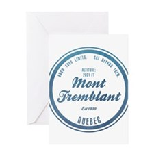 Mont Tremblant Ski Resort Quebec Greeting Cards