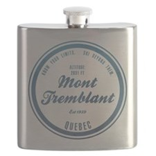 Mont Tremblant Ski Resort Quebec Flask