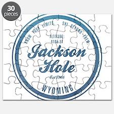 Jackson Hole Ski Resort Wyoming Puzzle