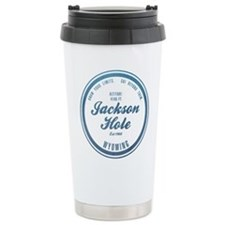 Jackson Hole Ski Resort Wyoming Travel Mug