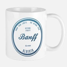Banff Ski Resort Alberta Mugs