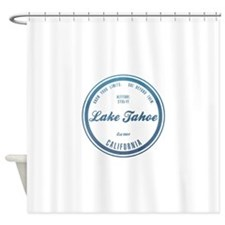 Lake Tahoe Ski Resort California Shower Curtain