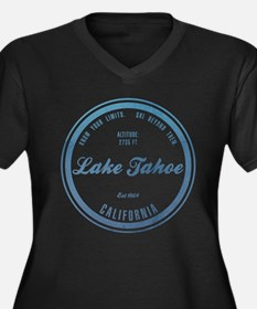 Lake Tahoe Ski Resort California Plus Size T-Shirt