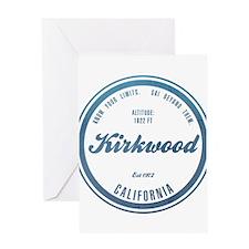 Kirkwood Ski Resort California Greeting Cards