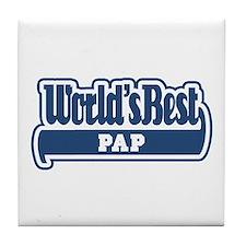 WB Dad [Limburgian] Tile Coaster