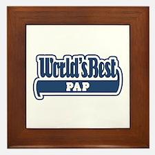WB Dad [Limburgian] Framed Tile