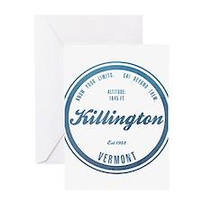 Killington Ski Resort Vermont Greeting Cards
