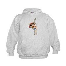 White Mexican Cat Hoodie