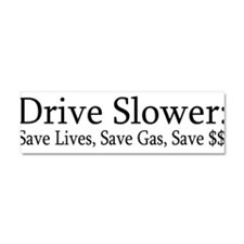 Cute Fuel economy Car Magnet 10 x 3