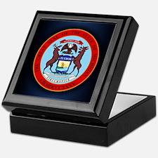 Michigan Seal Keepsake Box