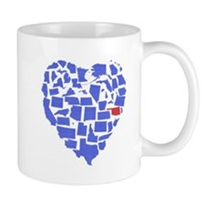 Oklahoma Heart Mug