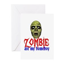 Zombie Ate My Homeboy Greeting Cards (Pk of 10