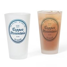 Copper Mountain Ski Resort Colorado Drinking Glass