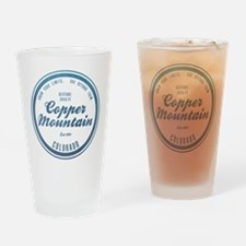 Copper Mountain Ski Resort Colorado Drinking Glass