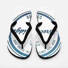 Breckenridge Ski Resort Colorado Flip Flops