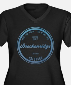 Breckenridge Ski Resort Colorado Plus Size T-Shirt