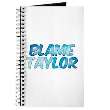 Blame Taylor Journal