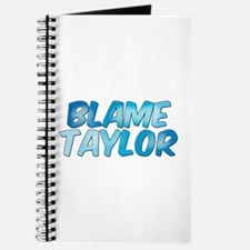 Blame Taylor Journal
