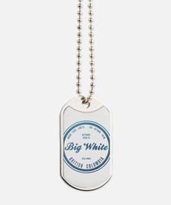 Big White Ski Resot British Columbia Dog Tags