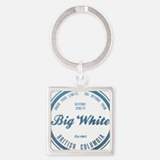 Big White Ski Resot British Columbia Keychains