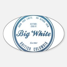 Big White Ski Resot British Columbia Decal