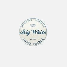 Big White Ski Resot British Columbia Mini Button
