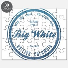 Big White Ski Resot British Columbia Puzzle