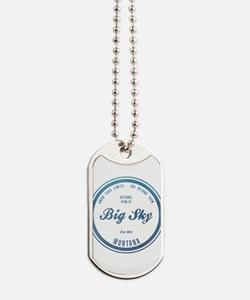Big Sky Ski Resort Montana Dog Tags