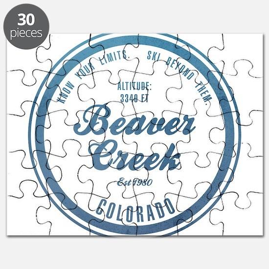 Beaver Creek Ski Resort Colorado Puzzle