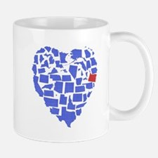 Oregon Heart Mug