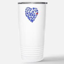Oregon Heart Travel Mug