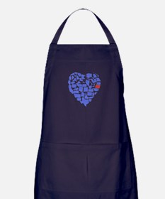 Oregon Heart Apron (dark)