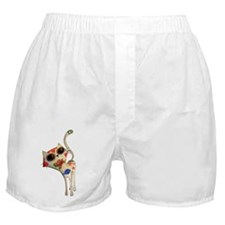 White Mexican Cat Boxer Shorts