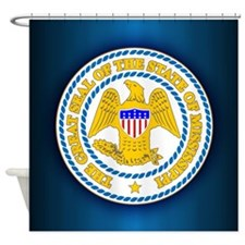 Mississippi Seal Shower Curtain