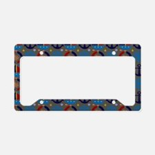 Anchors Sailors Aweigh License Plate Holder