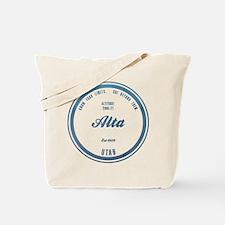 Alta Ski Resort Utah Tote Bag