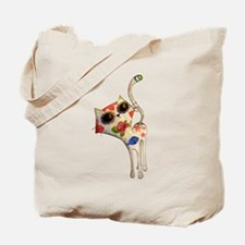 White Mexican Cat Tote Bag