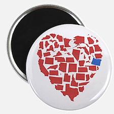 Oregon Heart Magnet