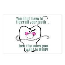 Keep Flossing! Dentist Postcards (Package of 8)