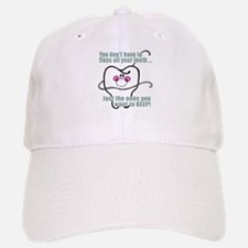 Keep Flossing! Dentist Baseball Baseball Cap