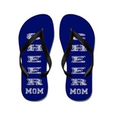 Blue Cheer Mom Flip Flops