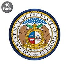 "Missouri Seal 3.5"" Button (10 pack)"
