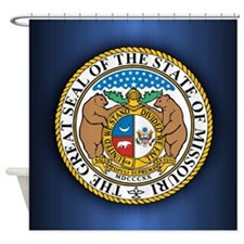 Missouri Seal Shower Curtain