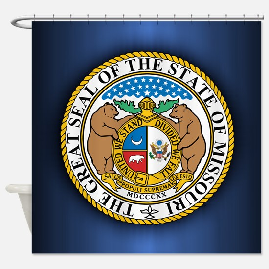 Missouri Seal Shower Curtain