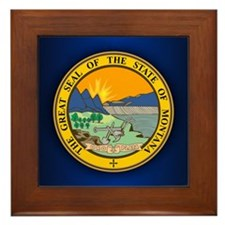Montana Seal Framed Tile