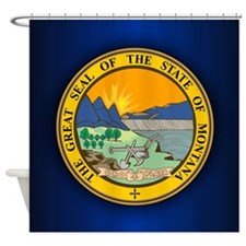 Montana Seal Shower Curtain