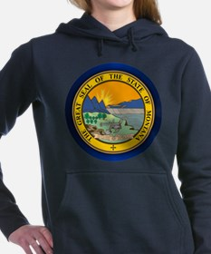 Montana Seal Women's Hooded Sweatshirt